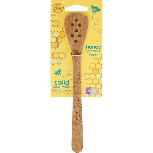 Honey Bee Honey Dipper and Spreader