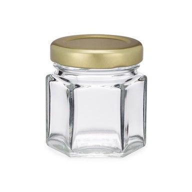 1.5oz Hex Bottle - Lids Included
