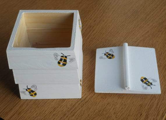 Handcrafted Beehive Trinket Box