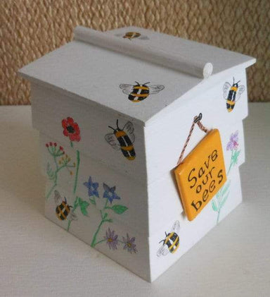 Save Our Bee's Beehive Trinket Box