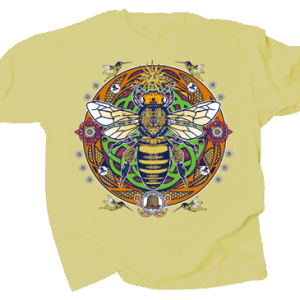 Queen Bee Hex Design T-Shirt