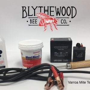 Varroa Mite Testing & Treatment Kit
