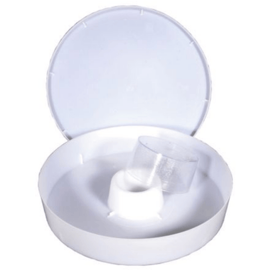 Round Rapid Feeders – White