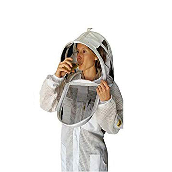 Cool Shield Ventilated Replacement Veil With EZ Open Front