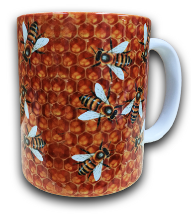 Bees In The Hive Coffee Mug