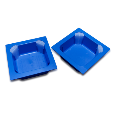 Ceracell Blue Plastic Tubs COMPLETE - 5 FRAME - NO WOODEN RIM