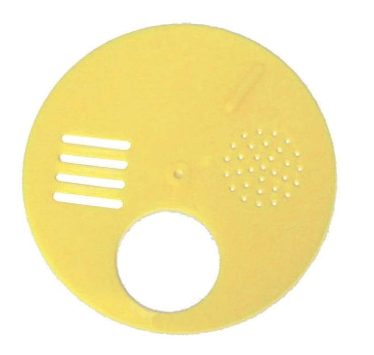 SMALL Circular Plastic Beehive Entrance Disc