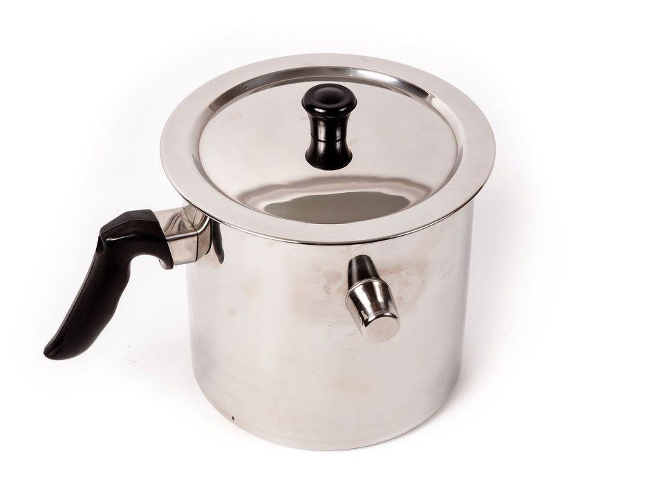 Stainless Steel Double Wall Wax Melting Pot 84oz