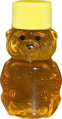 1.59oz Honey Bear Filled w/Honey