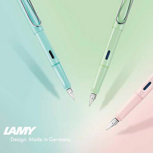 Lamy Safari Pastel Fountain Pen (2019 Special Edition) - EndlessPens