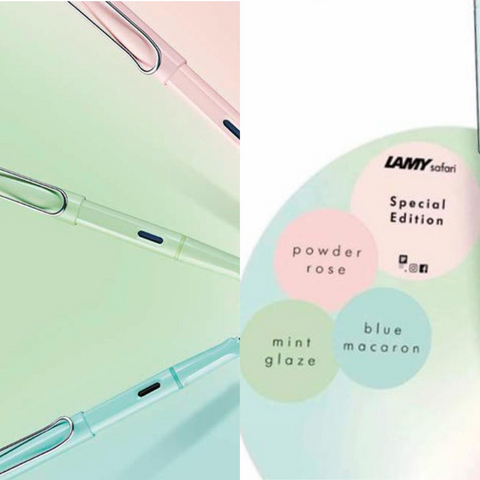 Lamy Safari Pastel Rollerball Pen (2019 Special Edition) - EndlessPens