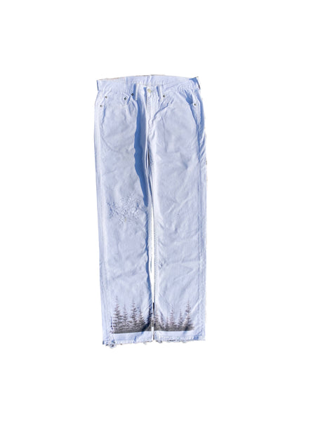 curiosity lyes in the woods denim