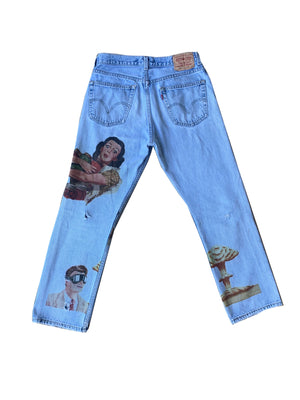 """we want you"" Denim"
