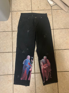 jesus on black pants 1/1