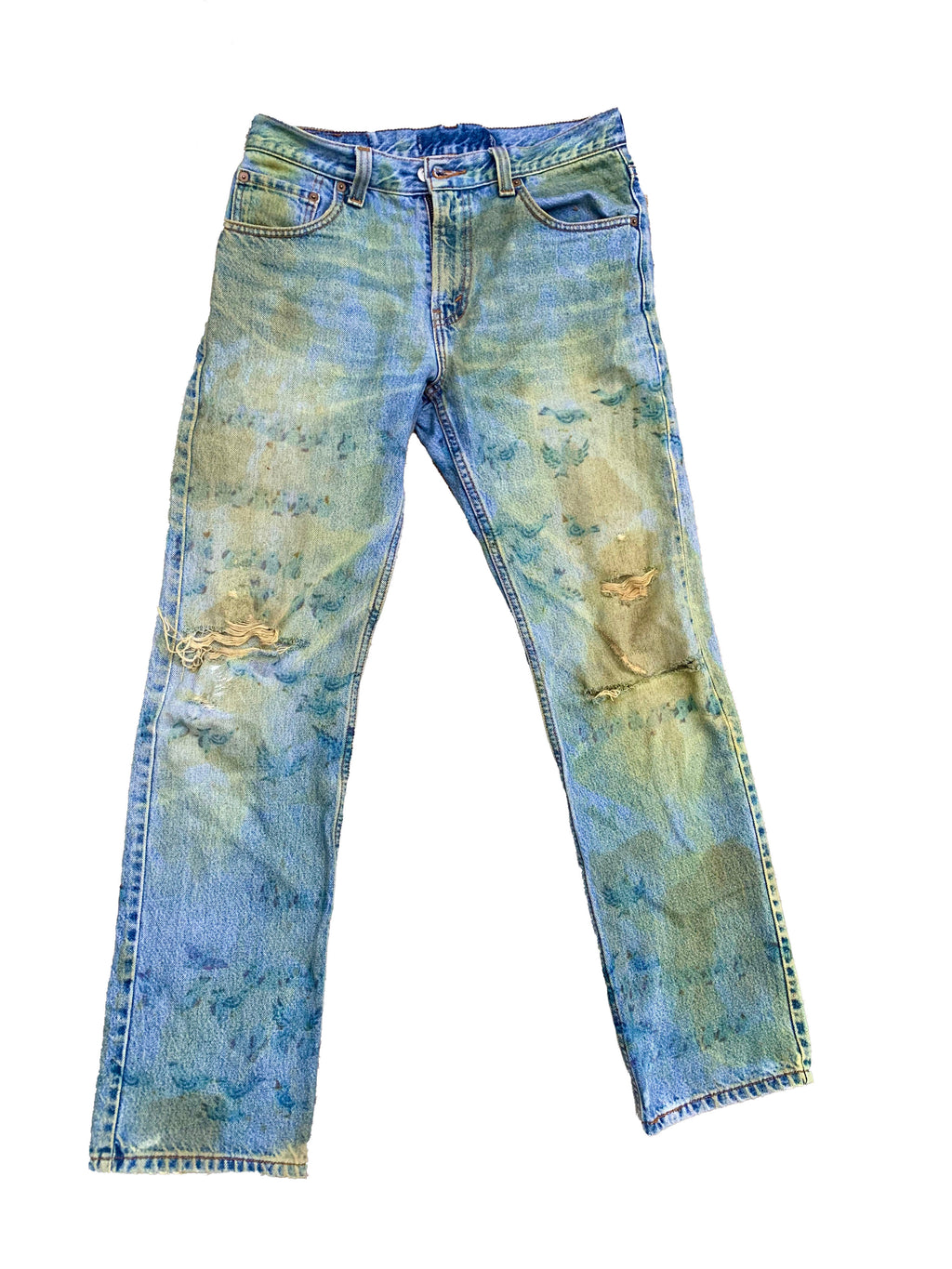 Aged Majestic Denim
