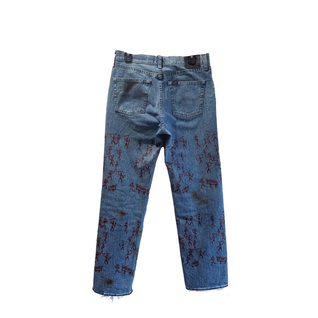 cave painting denim