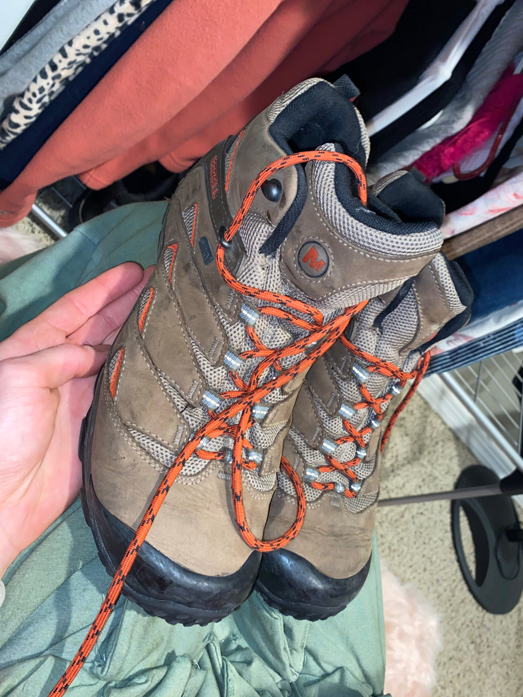 Merrell hiking size 11-12