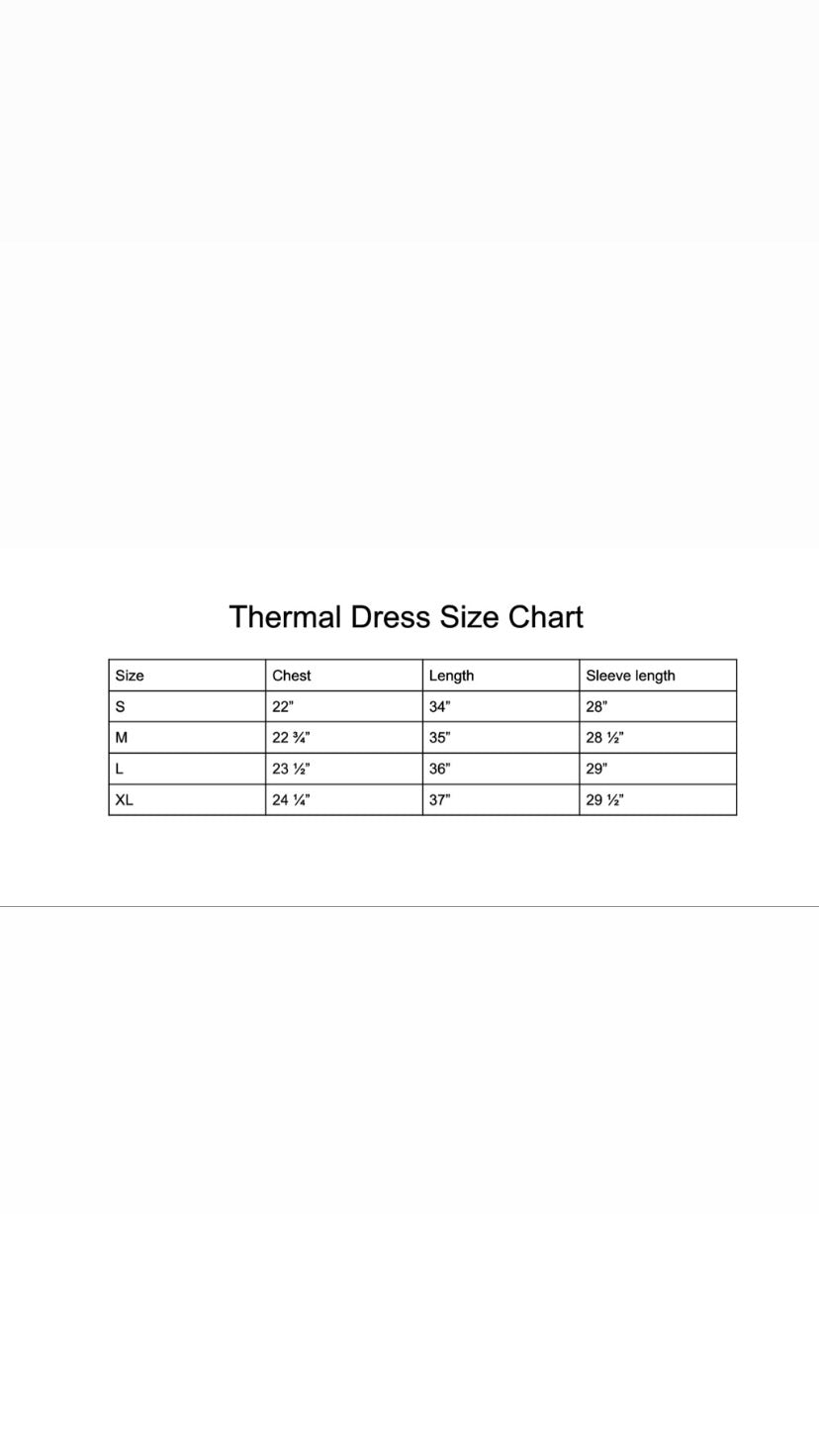 Thermal Dress