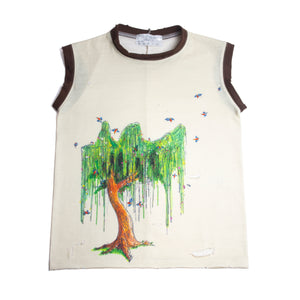 Weeping Willow 70's style Cut-Off