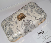 Maryam - Embroidered Clutch