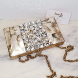 Sabah  - Mother of Pearl Clutch