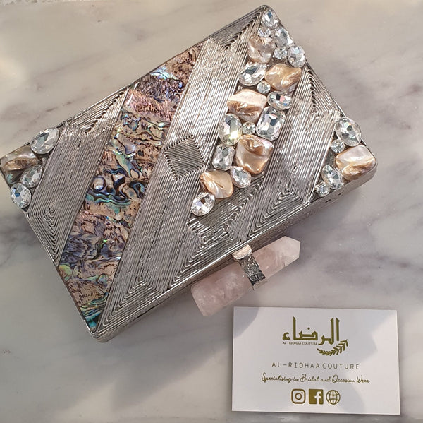 Eternity  - Mother of Pearl Clutch