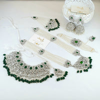Mahira - Green Bridal Set