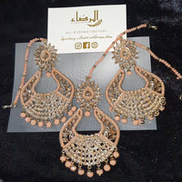 Oval - Tikka & Earrings