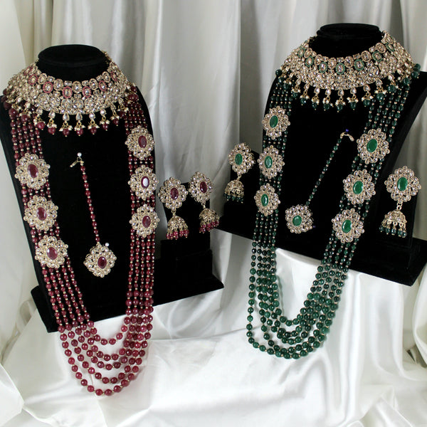 Madiha - Bridal Set Maroon