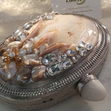Firdaus  - Mother of Pearl Clutch