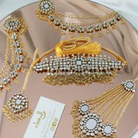 Anaya -  Kundan Bridal Set (Gold)