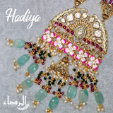 Hadiya - MeenaKari Necklace