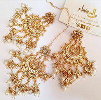 Kiara - Earrings and Tikka