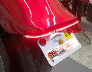 Yamaha Stryker Fender Eliminator Kit with LED Integrated Taillight Bar