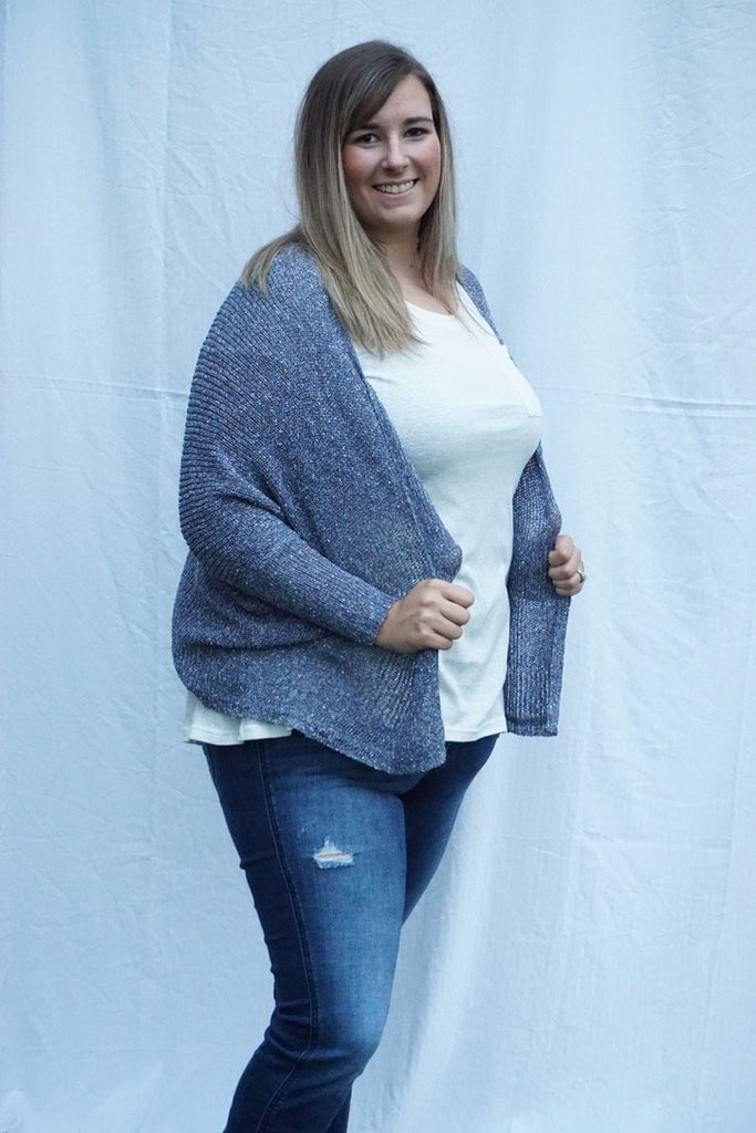 Blue Sheer Cardigan