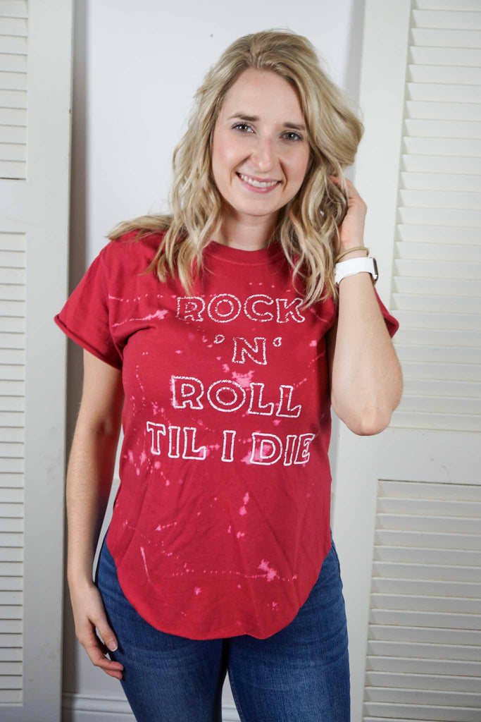Rock and Roll Till I Die Tee