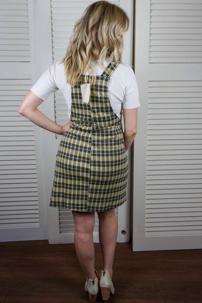 Plaid Mini Dress