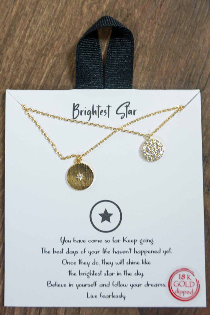 Bright Star Pendant Necklace