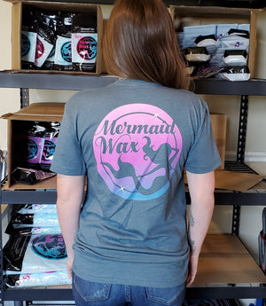 Mermaid Wax T-Shirts Slate MADE IN THE USA