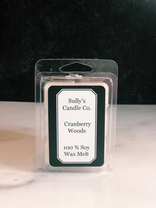 Cranberry Woods - 3oz Wax Melts - Sully's Candle Co.
