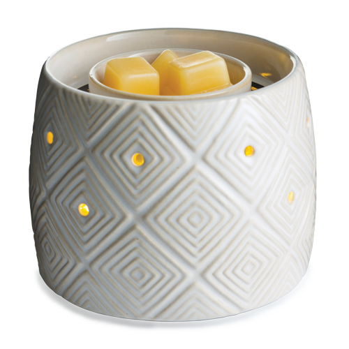 Geometric Illuminaire Fan Wax Melt Warmer - Sully's Candle Co.