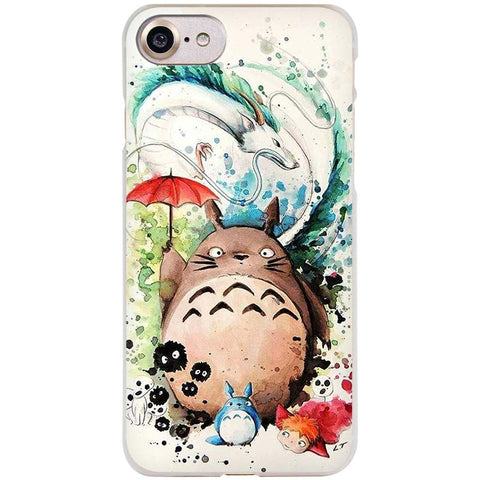 Studio Ghibli Clear Case For iPhone
