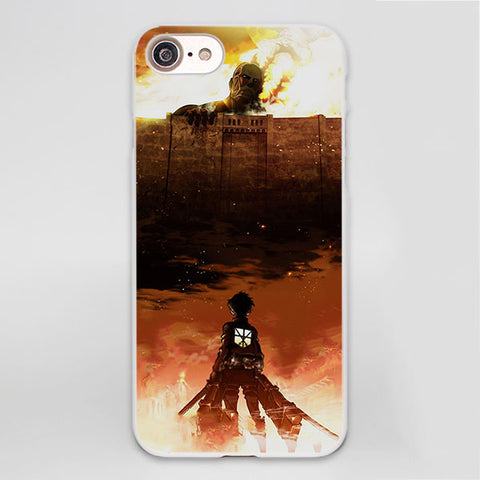 Attack on Titan iPhone Case