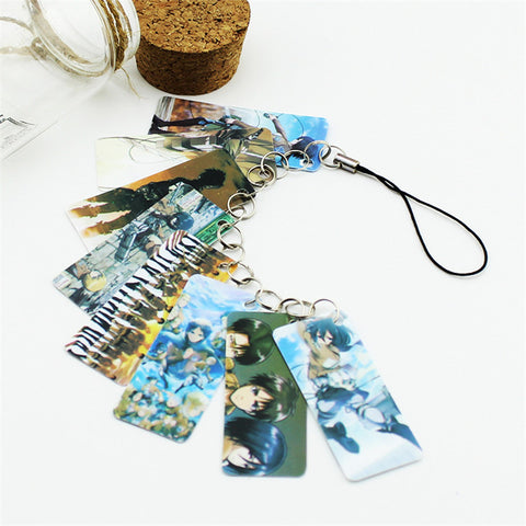 Attack on Titan 8-Piece Phone Charm
