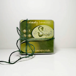 Luxury tin, gift soap set, ideal for Christmas, handmade in Scotland, UK