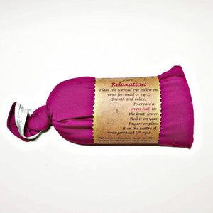 Pink lavender eye pillow, vegan pouch, handmade Scotland UK