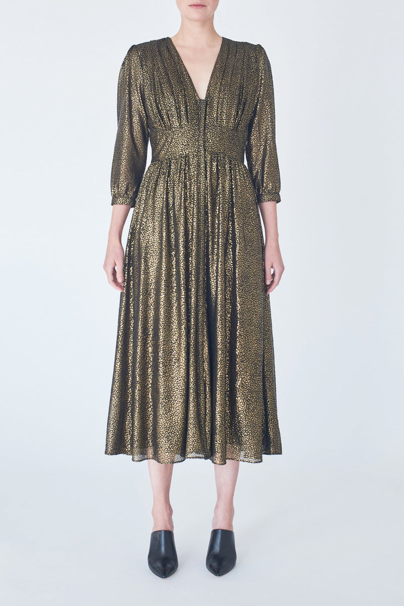 dress-black-gold-Valerie-front