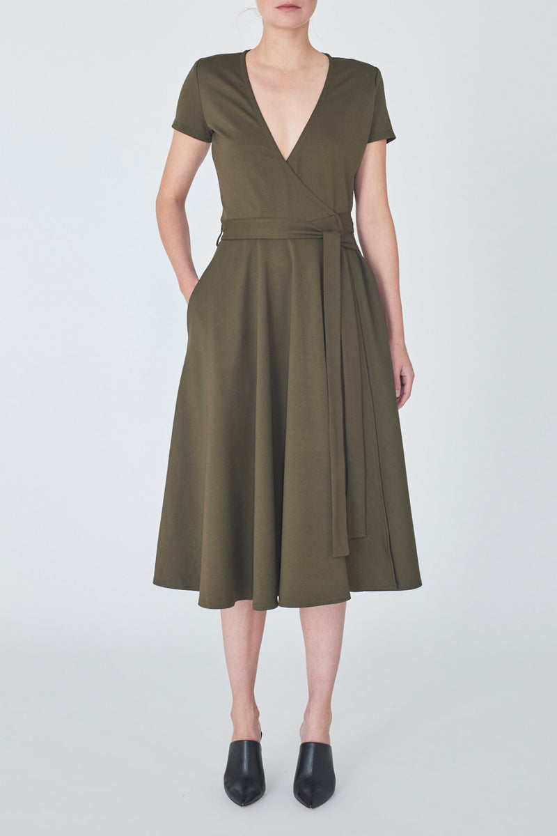 dress-khaki-Catherine-detail1