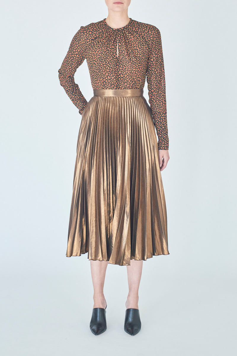 skirt-bronze-Coralie-detail