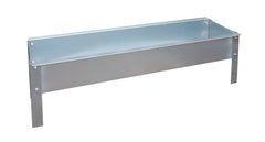 Feed Trough in Galvanised Steel